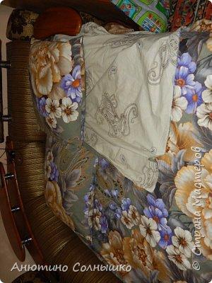 Всем приветик!!! Начинающая швея берется сначала за пошив постельного, но это не мой случай!!! Ну так вот и я дошла до пастельного, быстро, дешевле, ничего сложного и выбор ткани огромный!!!! фото 4