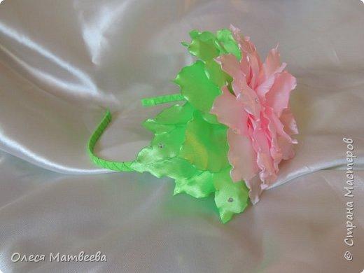Ободок и резинка на гульку. фото 5