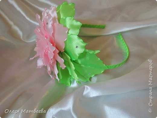 Ободок и резинка на гульку. фото 6