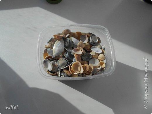 Обожаю морскую тему,....После отдыха с чёрного моря привезла ракушки и морской песок в очередной раз,родились вот такие шкатулочки.Я думаю,актуальная тема в разгар лета. Покажу в полном объёме. фото 12