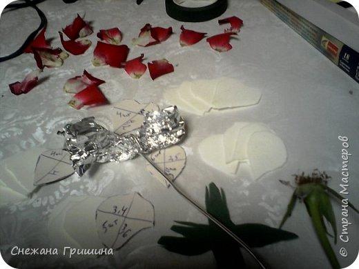 Здравствуйте дорогие жители Страны Мастеров!!! Пока цветут цветы в саду,я сделаю несколько разборов по цветам!! Я часто ищу разборы по цветам,и может мои цветы кому нибудь пригодятся!! Сегодня вашему вниманию я представляю розу Николь фото 8
