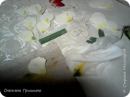 Здравствуйте дорогие жители Страны Мастеров!!! Пока цветут цветы в саду,я сделаю несколько разборов по цветам!! Я часто ищу разборы по цветам,и может мои цветы кому нибудь пригодятся!! Сегодня вашему вниманию я представляю розу Николь фото 10