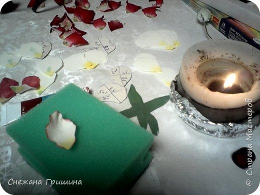 Здравствуйте дорогие жители Страны Мастеров!!! Пока цветут цветы в саду,я сделаю несколько разборов по цветам!! Я часто ищу разборы по цветам,и может мои цветы кому нибудь пригодятся!! Сегодня вашему вниманию я представляю розу Николь фото 13