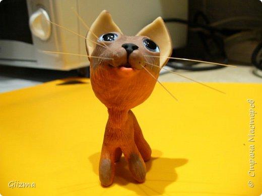 Здравствуйте! Это моя очередная неудачная (по-моему, уже четвертая) попытка сделать котенка по имени Гав. Не художник я совсем :(   Что ж, Гав не получился, но тот, кто получился, как мне кажется, имеет право на существование. Добрый и трогательный, пусть и не красавец.  Пусть его имя будет Мяв :)))) фото 4