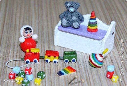 Игрушки для кукол. Часть 1