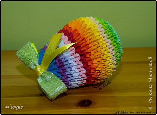 Origami 3d Easter Egg фото 2