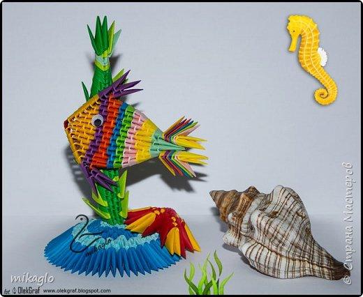 Origami 3d Sea Word фото 1