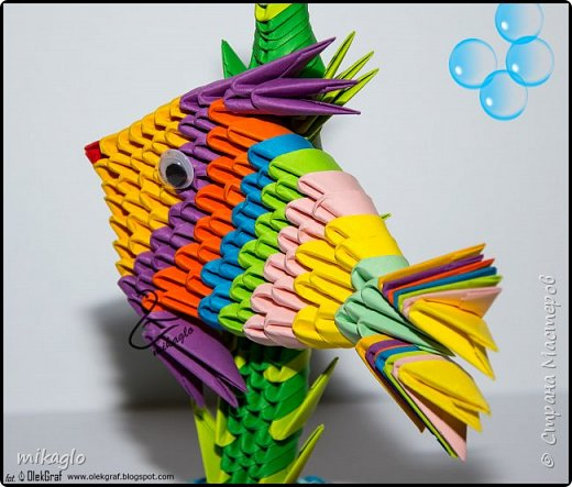 Origami 3d Sea Word фото 2