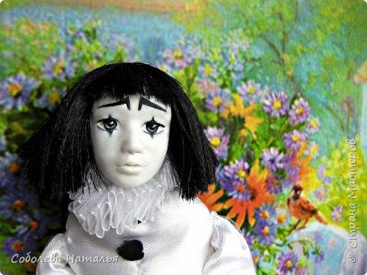 "Дебютная интерьерная кукла ""Пьеро"" фото 2"