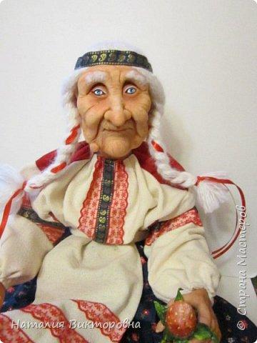 Хочу показать вам новую работу, Бабушка Яга! Правда она не до конца сделана -нет атрибутов для Яги, Будет еще ступа( наверное) с метлой.  Вот такая чистюля в этот раз! фото 12