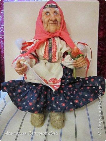 Хочу показать вам новую работу, Бабушка Яга! Правда она не до конца сделана -нет атрибутов для Яги, Будет еще ступа( наверное) с метлой.  Вот такая чистюля в этот раз! фото 1