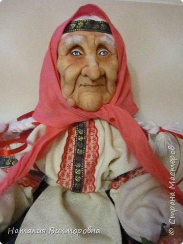 Хочу показать вам новую работу, Бабушка Яга! Правда она не до конца сделана -нет атрибутов для Яги, Будет еще ступа( наверное) с метлой.  Вот такая чистюля в этот раз! фото 15