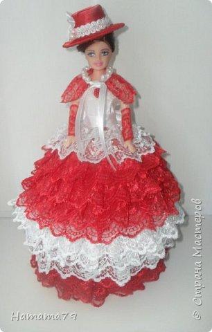 Был небольшой заказ на две куклы-шкатулки для сестер. В конце лета их увезут в Ростов и Москву. фото 1