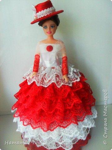 Был небольшой заказ на две куклы-шкатулки для сестер. В конце лета их увезут в Ростов и Москву. фото 5