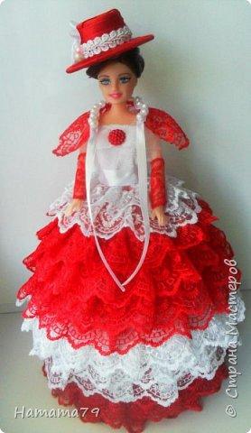Был небольшой заказ на две куклы-шкатулки для сестер. В конце лета их увезут в Ростов и Москву. фото 4