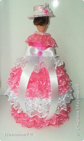 Был небольшой заказ на две куклы-шкатулки для сестер. В конце лета их увезут в Ростов и Москву. фото 10