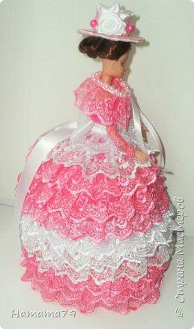 Был небольшой заказ на две куклы-шкатулки для сестер. В конце лета их увезут в Ростов и Москву. фото 9