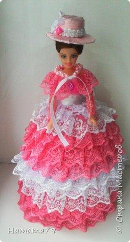 Был небольшой заказ на две куклы-шкатулки для сестер. В конце лета их увезут в Ростов и Москву. фото 8