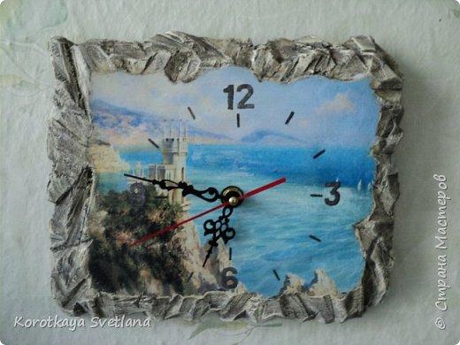 """Часы """"Ласточкино гнездо"""". Все потянуло на море. фото 1"""