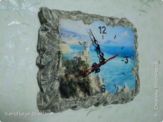 """Часы """"Ласточкино гнездо"""". Все потянуло на море. фото 2"""