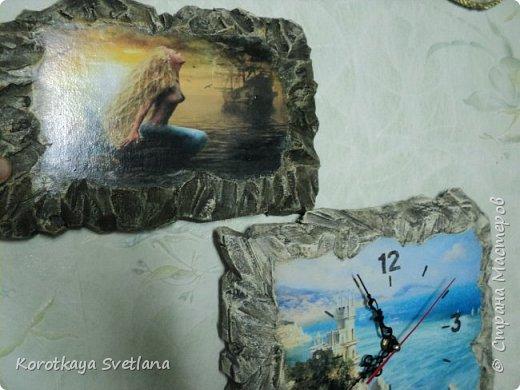 """Часы """"Ласточкино гнездо"""". Все потянуло на море. фото 5"""