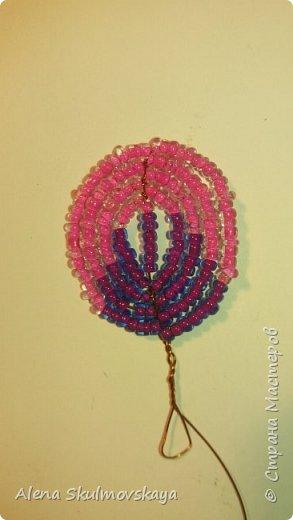 комнатное растение из бисера фото 3