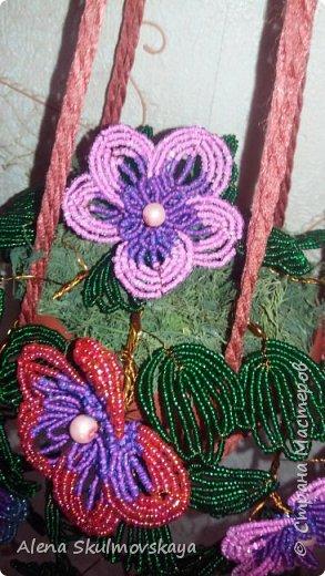 комнатное растение из бисера фото 5