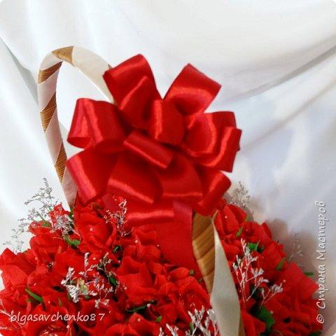 Всем привет!!!! 50 сладких цветочков получились у меня в дополнение к основному подарку ....  фото 4