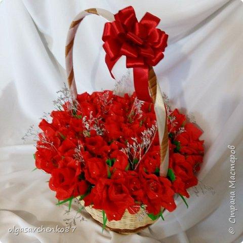 Всем привет!!!! 50 сладких цветочков получились у меня в дополнение к основному подарку ....  фото 5