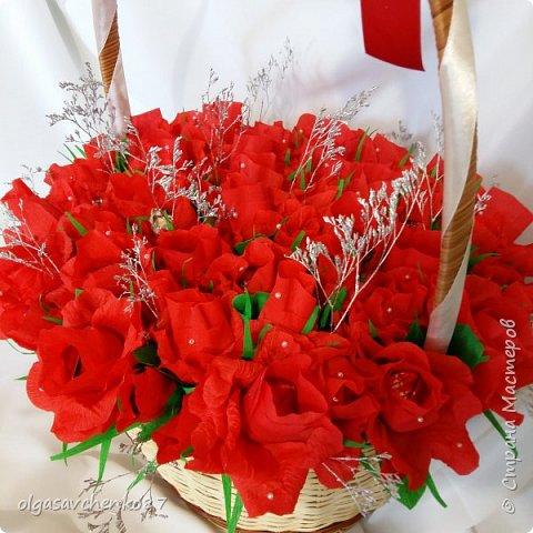 Всем привет!!!! 50 сладких цветочков получились у меня в дополнение к основному подарку ....  фото 6