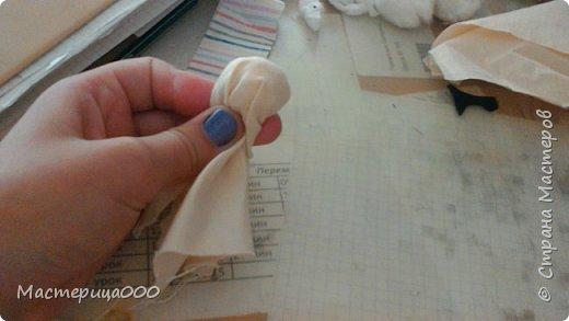 Нам понадобится: ткань салфетки нитки ножницы фото 4