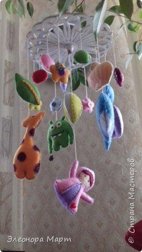 Мобиль для детской кроватки фото 4
