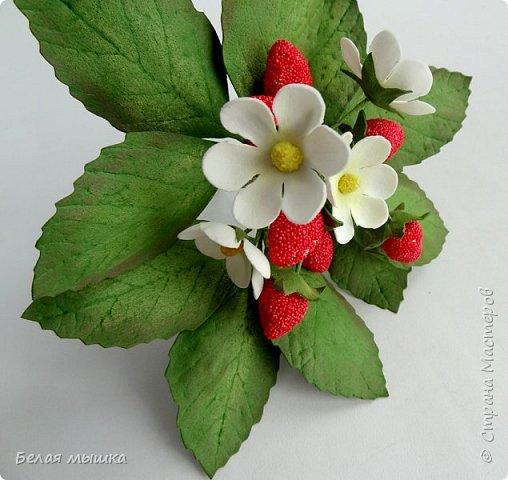 Пора земляники уже проходит, а на память хочется сохранить хоть одну маленькую ягоду. Так и появился этот кустик земляники в моей коллекции.