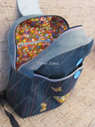 Рюкзак на молнии фото 4
