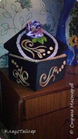 Шкатулка, коробка кому как удобно. В общем на ваш суд  новая вещь или поделка кому как нравится. фото 3
