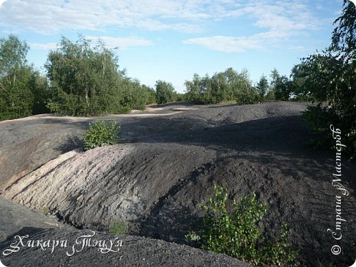 """За сегодня это мой второй блог... Итак, на часах ровно шесть утра... Я проснулась намного раньше, где-то в половине пятого, но до шести рисовала на улице, специально ждала, когда солнце взойдет немного повыше.  Я живу на Донбассе, в городе Макеевке, в Ханжонково, в поселке Фурманово...  Как известно, в Донецкой области очень много шахт, а посему и терриконов. У нас большого террикона нет, зато есть небольшие холмы. Они состоят из тех же камней, что и терриконы, только по размерам намного меньше. Самая большая высота над уровнем земли - не больше 4 метров. Мы зовем это - бугор. Да, так и зовем))) Например: """"Не ходи на бугор"""", """" Пошли на бугор"""" и т.д. На бугре очень много берез. Из них есть моя любимая))) На ней очень удобно лазить... фото 33"""