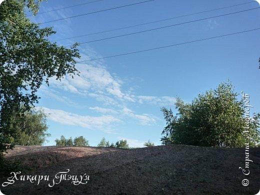 """За сегодня это мой второй блог... Итак, на часах ровно шесть утра... Я проснулась намного раньше, где-то в половине пятого, но до шести рисовала на улице, специально ждала, когда солнце взойдет немного повыше.  Я живу на Донбассе, в городе Макеевке, в Ханжонково, в поселке Фурманово...  Как известно, в Донецкой области очень много шахт, а посему и терриконов. У нас большого террикона нет, зато есть небольшие холмы. Они состоят из тех же камней, что и терриконы, только по размерам намного меньше. Самая большая высота над уровнем земли - не больше 4 метров. Мы зовем это - бугор. Да, так и зовем))) Например: """"Не ходи на бугор"""", """" Пошли на бугор"""" и т.д. На бугре очень много берез. Из них есть моя любимая))) На ней очень удобно лазить... фото 42"""