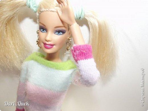 Доброго времени суток, друзья!) Это моя первая опубликованная работа в СМ. В этой записи я познакомлю Вас с моей куколкой Барби - Алисой и с ее новой пижамой! фото 5