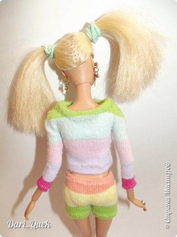 Доброго времени суток, друзья!) Это моя первая опубликованная работа в СМ. В этой записи я познакомлю Вас с моей куколкой Барби - Алисой и с ее новой пижамой! фото 3