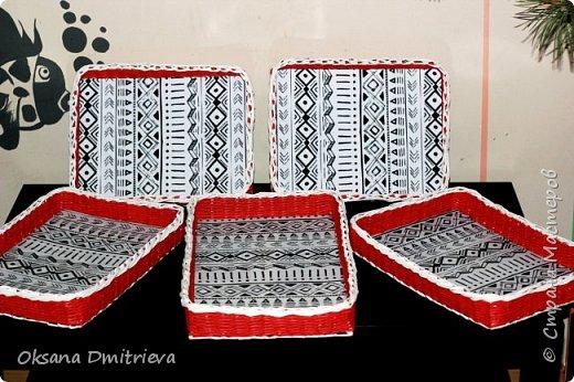 Мои корзиночки - лоточки для одной очень душевной кофейни!!! фото 1