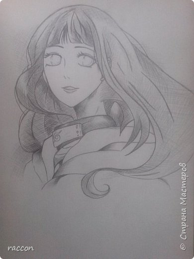 одна из моих первых попыток срисовать человека с фото в стиле аниме фото 14