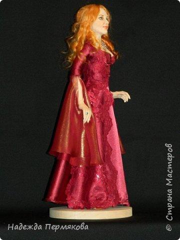 Куколка из пластика размер 50 см, волосы шерсть овцы, проволочный каркас, планируется в пару султан Сулейман. А как же без него. фото 2