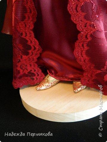 Куколка из пластика размер 50 см, волосы шерсть овцы, проволочный каркас, планируется в пару султан Сулейман. А как же без него. фото 5