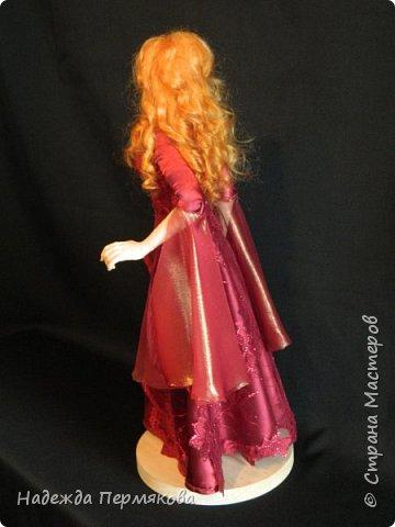 Куколка из пластика размер 50 см, волосы шерсть овцы, проволочный каркас, планируется в пару султан Сулейман. А как же без него. фото 3