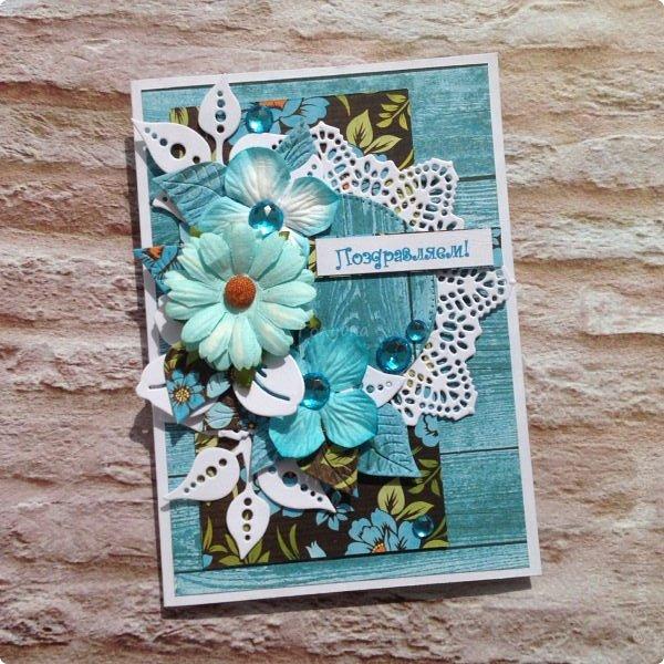 """Неустанно признаюсь ей в любви:)  Бумага Galeria Papieru """"Красочный луг"""" Colorful Meadow.  Вдохновение вчера накрыло:) фото 1"""