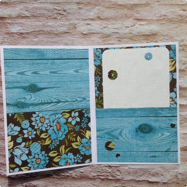 """Неустанно признаюсь ей в любви:)  Бумага Galeria Papieru """"Красочный луг"""" Colorful Meadow.  Вдохновение вчера накрыло:) фото 3"""