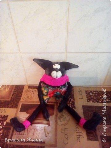 Всем жителям замечательной страны огромный привет!сегодня я к вам с черненьким котиком)))))вот такой прикольный котик у меня получился!приглашаю вас к просмотру! фото 7