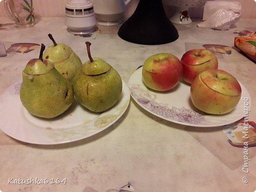 Здравстуйте , уважаемые мастера и мастерицы, хочу поделится рецептом очень простого  в приготовлении и вкусного десерта. Это фрукты запеченые в слоеном тесте . фото 5
