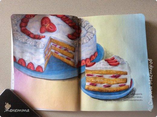 рисую сладости фото 5