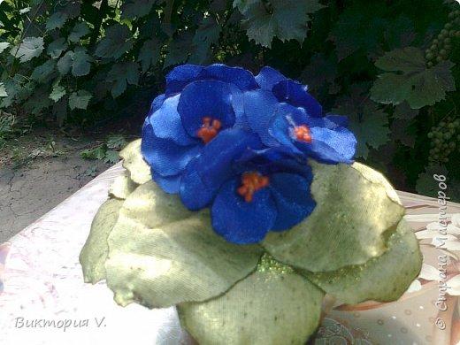 первая сакура. делала реанимацию старой неинтересной шляпы. ленту тоже заменила, была старая выцвевшая, цвет другой. фото 3